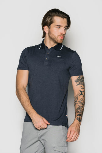 T-Shirt Polo Męski