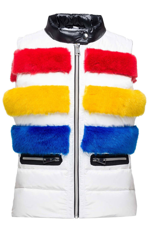 JC de Castelbajac Kamizelka W Bumpi Light Down Vest