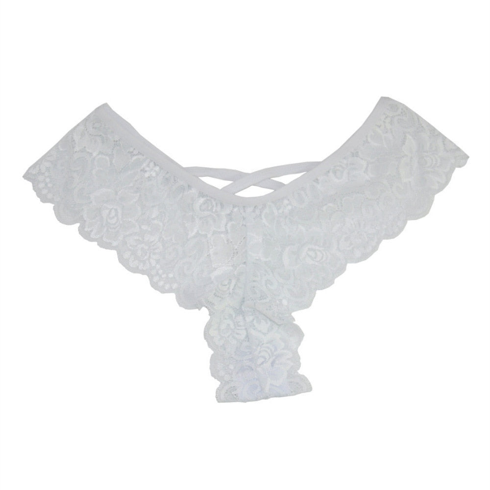 4PC Lace G-string Panties