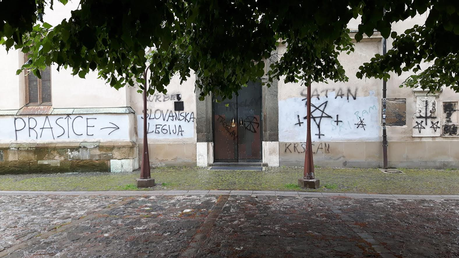 Graffiti Satanique
