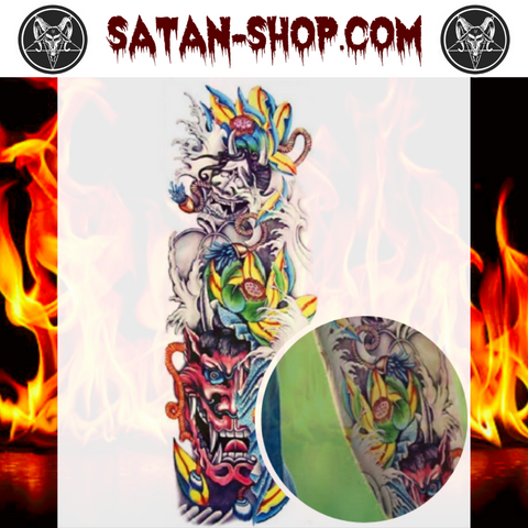 Tatouage Diable Tribal