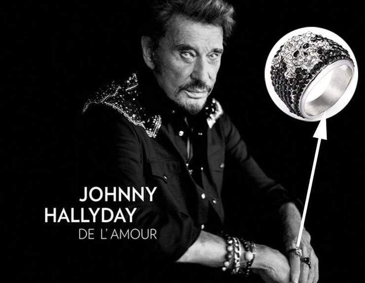 Bague de Johnny Hallyday | Satan Shop