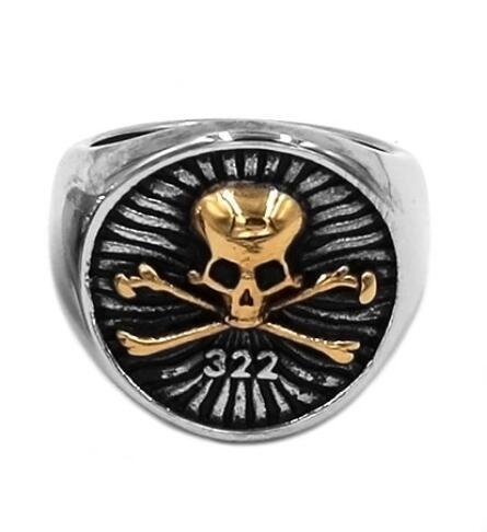 Bague Société Secret Skull And Bones