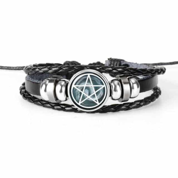 Bracelet Supernatural Sam (cuir)