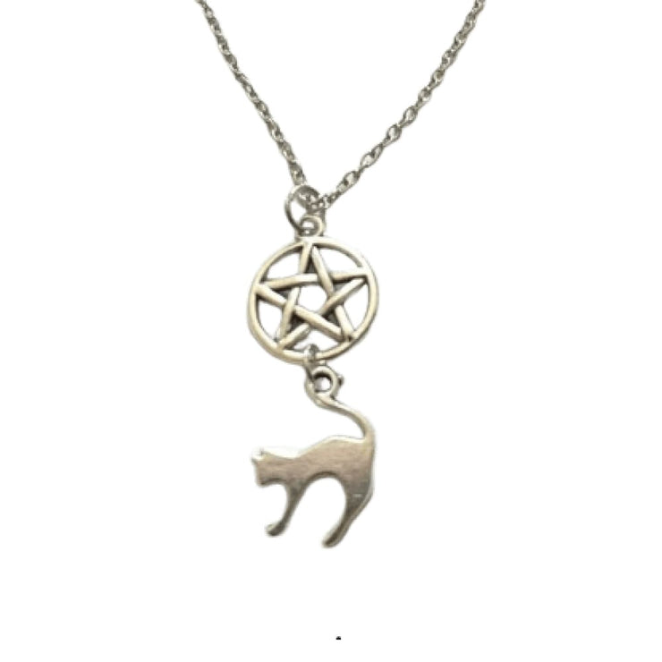 Collier Chat Satanique