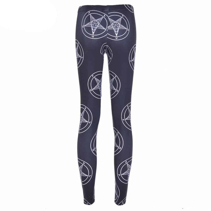 Leggings Pentagramme Diabolique