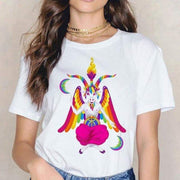 T Shirt Baphomet Coloré