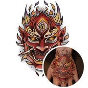 Tatouage Diable Rouge
