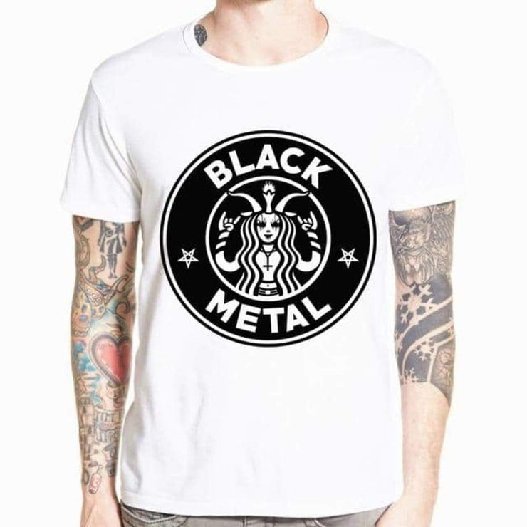 Tee Shirt Black Metal