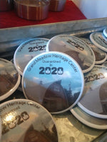 Grand Meadow Annual Button- Quarantined in 2020