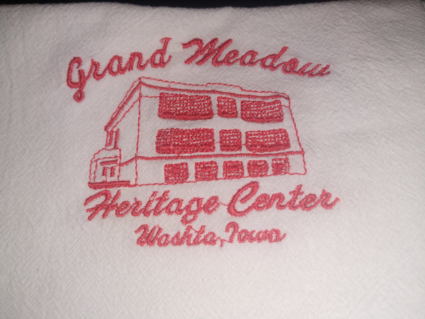 GMHC Brick Schoolhouse Towel