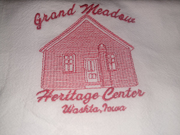 GMHC One Room Schoolhouse Towel