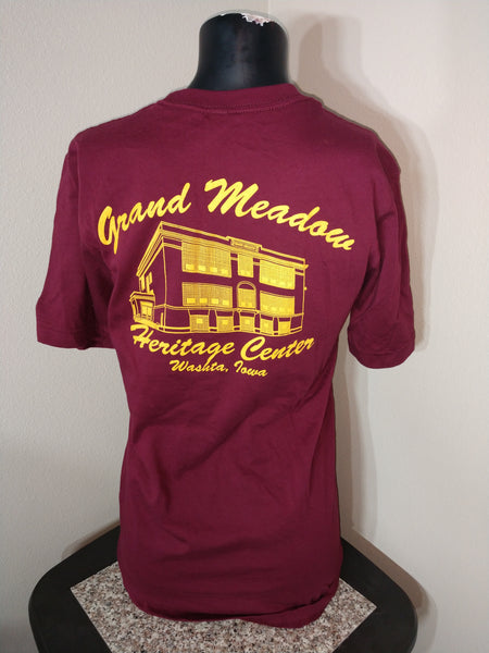 Adult Maroon/Gold T-Shirt