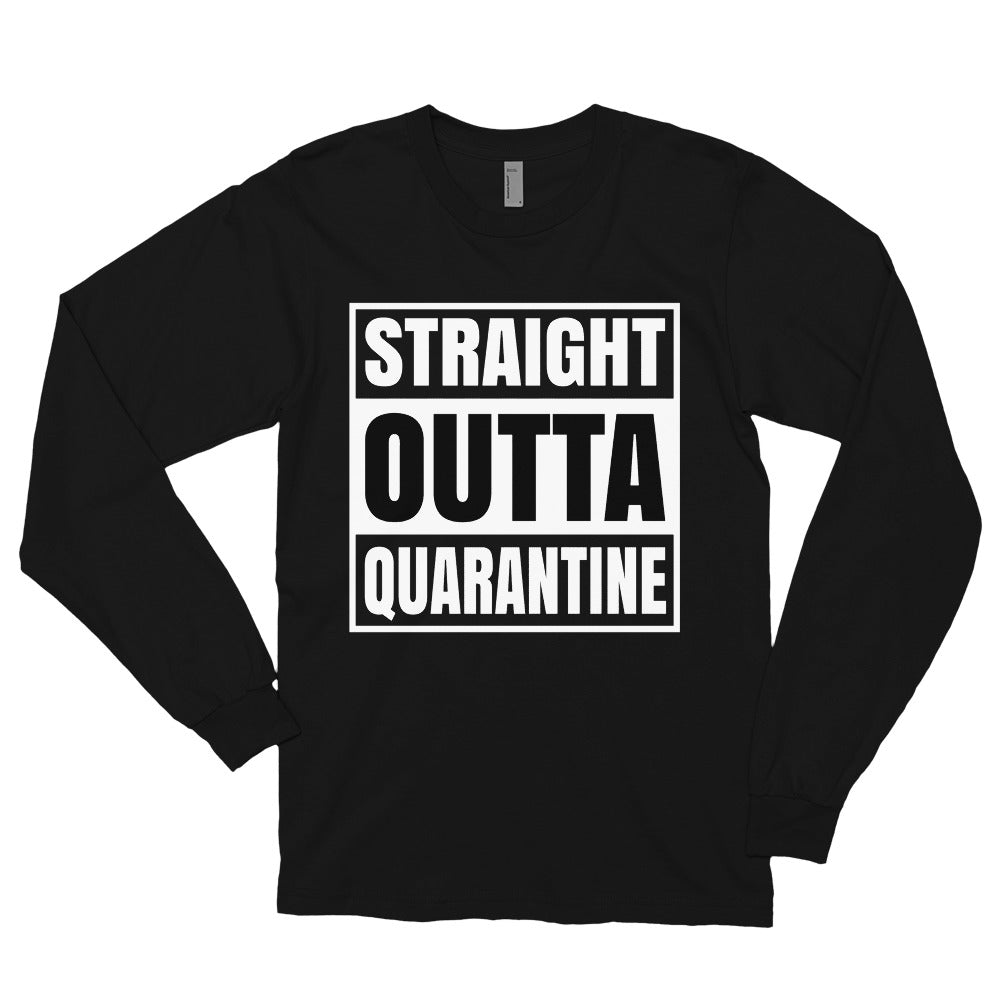 Straight Outta Long sleeve t-shirt