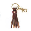 Key Tassel Leather Keychain