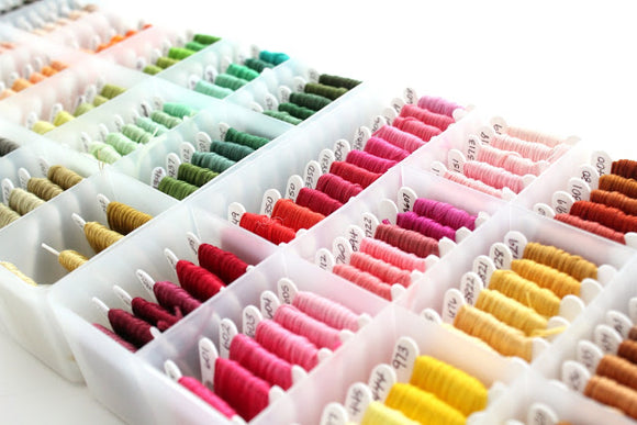 Embroidery Thread Organisation Hack- Tidy Up Your Floss Stash