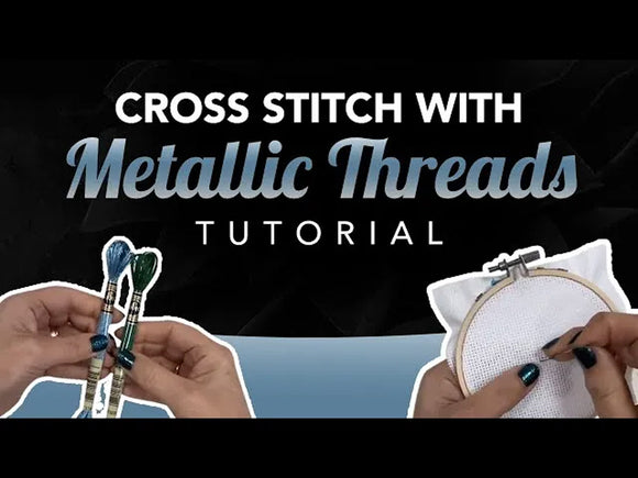 Video Tutorial: Using metallic thread without the head f#ck