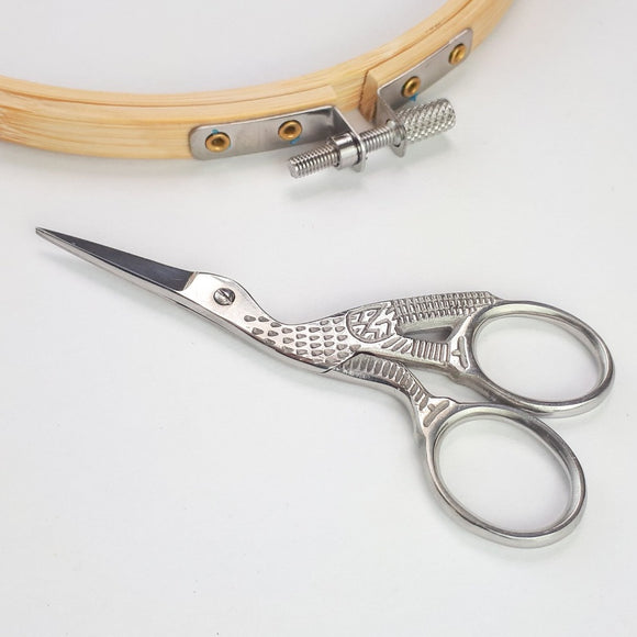 Silver Embroidery Scissors
