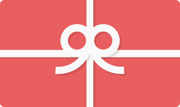 Clip-art picture of a wrapped present: a red rectangle with white lines vertically and horizontally with a white bow in the centre