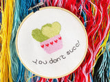 Suculent Cross Stitch Kit
