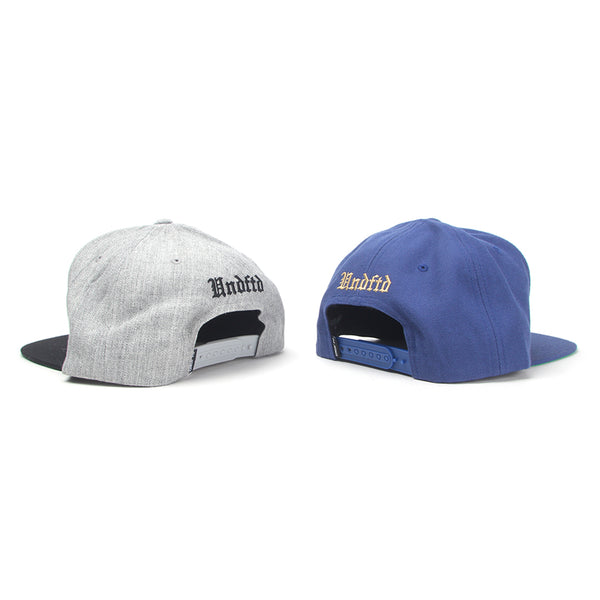 Undefeated 5 Strike FA15 Cap (Grey Heather   Navy) d6d1d8fb251b