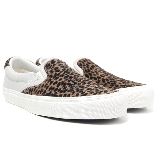 d6a72b9796bd Vans Vault OG Slip-On 59 LX - Premium Leather Pony Hair (Leopard)