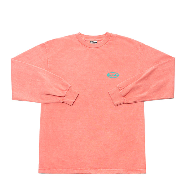 MEET UP GARMENT DYED L/S TEE