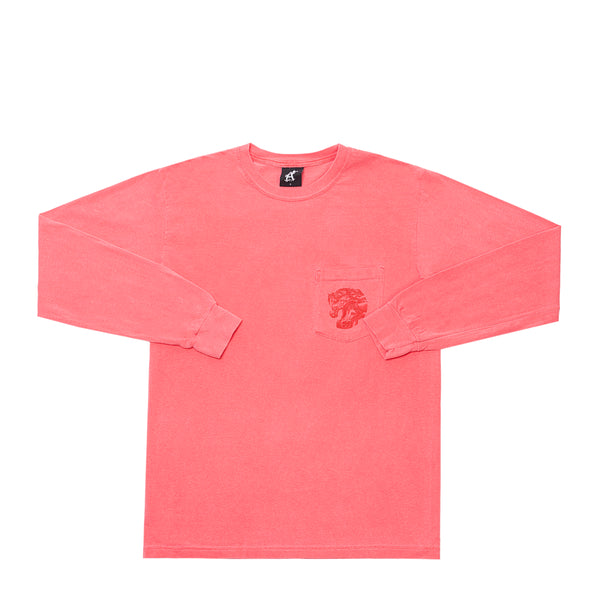 WILD HORSES LONG SLEEVE POCKET TEE SU19