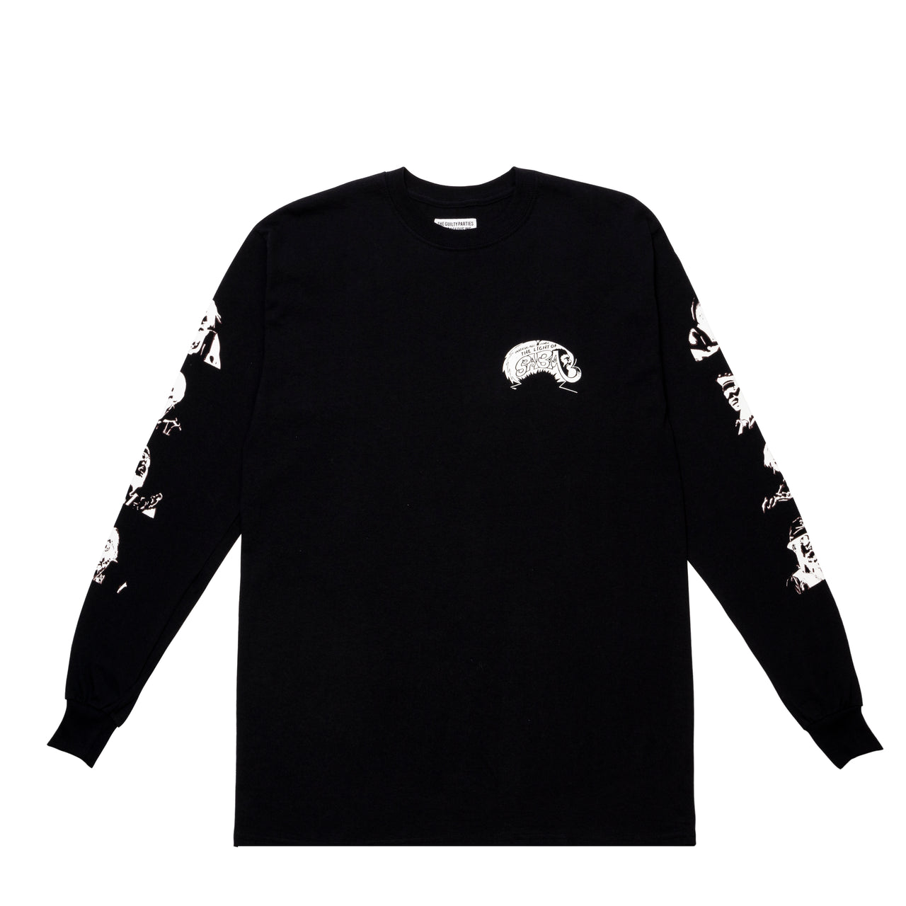 CREW NECK LONG SLEEVE T-SHIRT (TYPE-1)