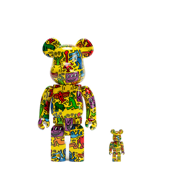 BE@RBRICK 100% & 400% SET #5 / KEITH HARING