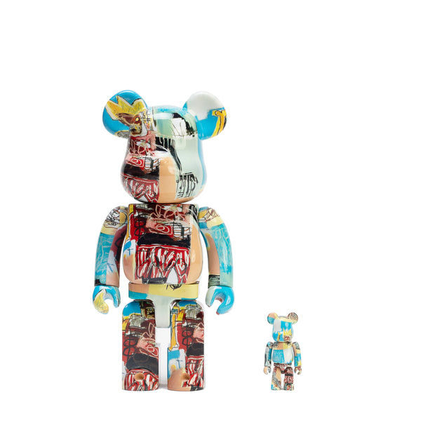 BE@RBRICK 100% & 400% SET #6 / JEAN-MICHEL BASQUIAT