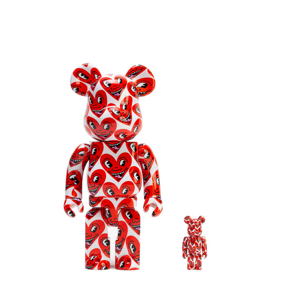 BE@RBRICK 100% & 400% SET #6 / KEITH HARING