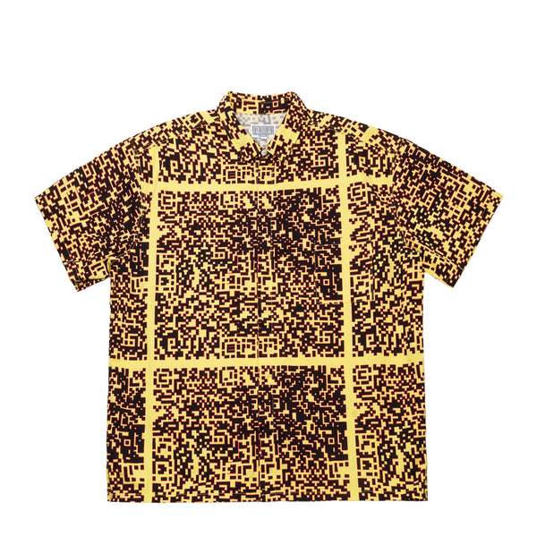 NOISE C2 SHORT SLEEVE SHIRT YELLOW
