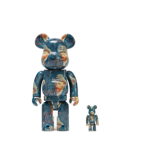 "BE@RBRICK 100% & 400% SET ""SELF PORTRAIT"" / VAN GOGH MUSEUM"