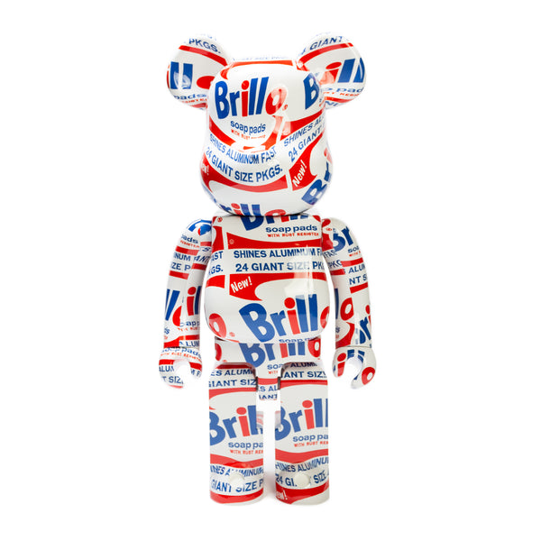 "BE@RBRICK 1000% ""BRILLO"" / ANDY WARHOL"
