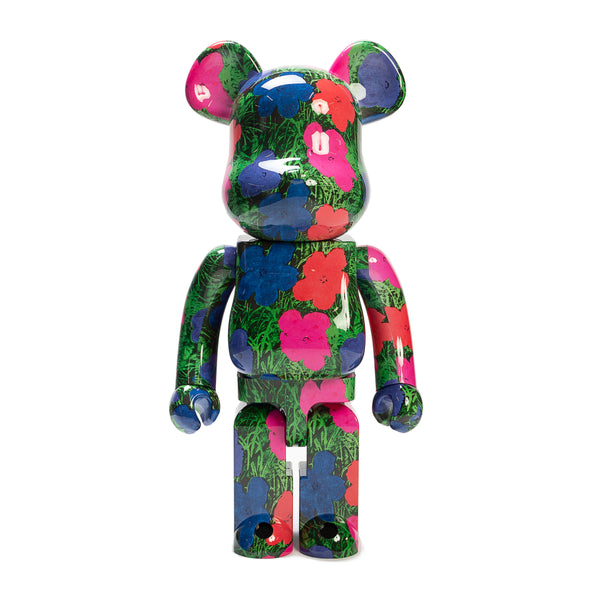 "BE@RBRICK 1000% ""FLOWERS"" / ANDY WARHOL"