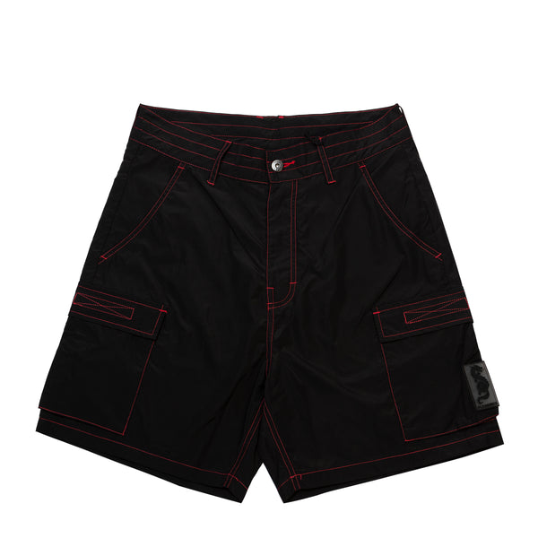 STATIC NYLON CARGO SHORTS