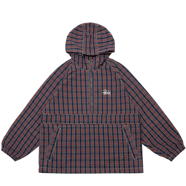 BRUSHED COTTON ANORAK