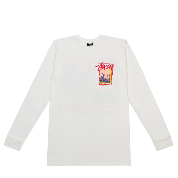 PALM DESERT PIGMENT DYED LONG SLEEVE TEE