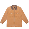 WASHED CANVAS WORK SHIRT