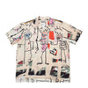S/S HAWAIIAN SHIRT ( TYPE-3 ) / JEAN-MICHEL BASQUIAT