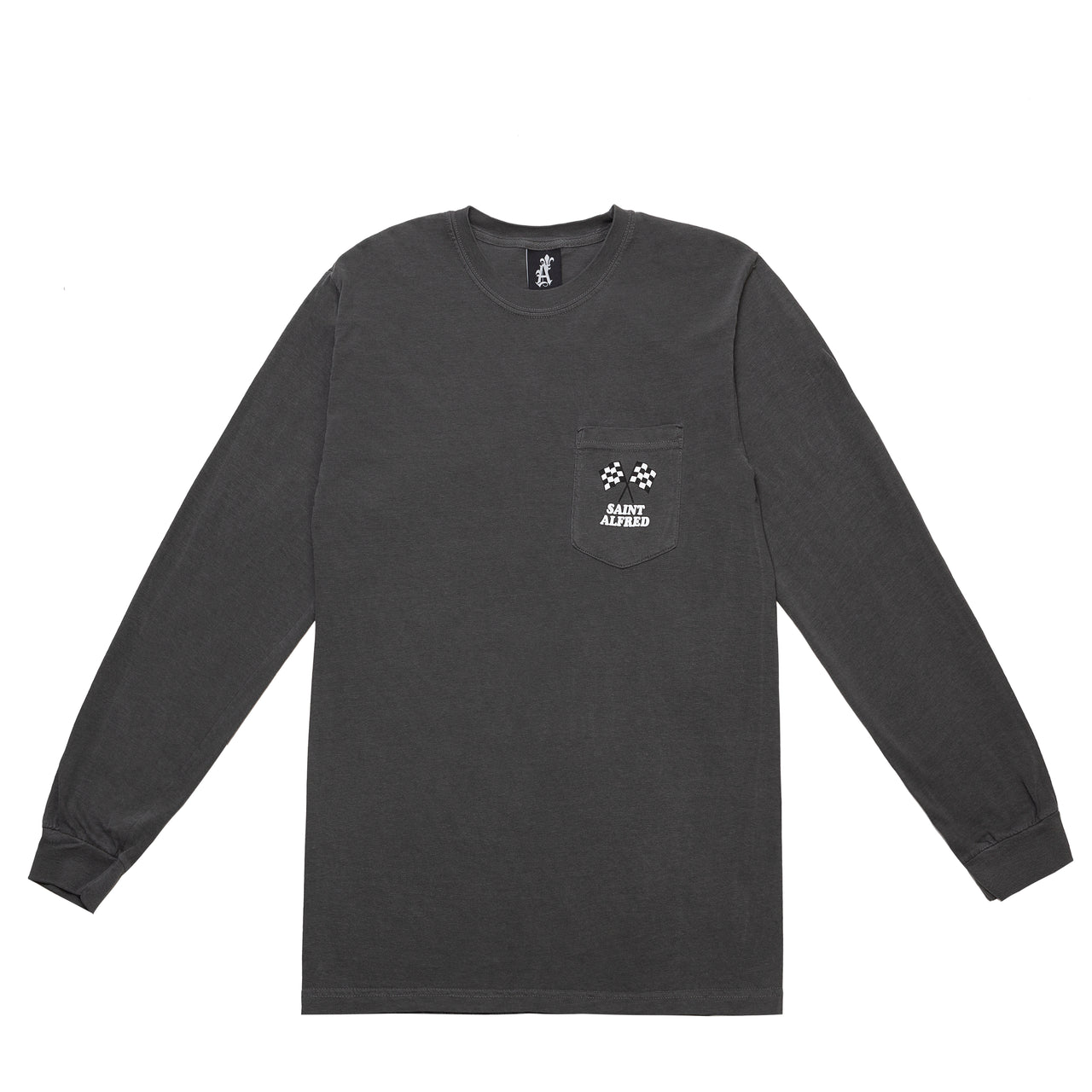 RACEWAY LONG SLEEVE POCKET TEE SU20