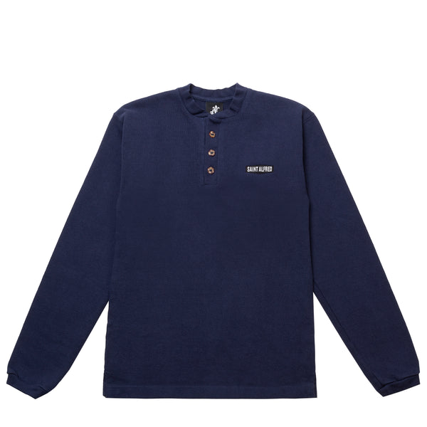 3-BUTTON HENLEY FW19 MADE IN USA