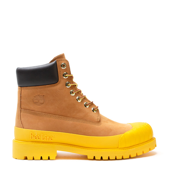 6 INCH PREMIUM WP RUBBERTOE BOOT / BEE LINE