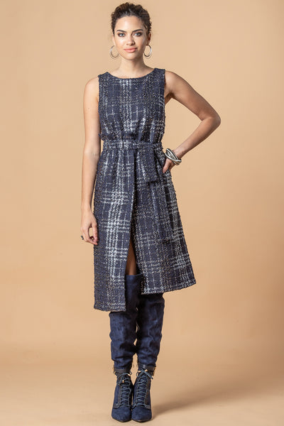 EVA FRANCO / Abigail Dress In Midnight Paris