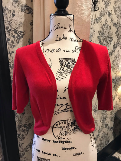 2SABLE / Red Shrug Bolero Cover