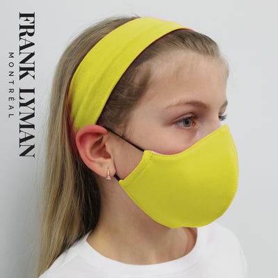 FRANK LYMAN KIDS MASKS / Neon Yellow