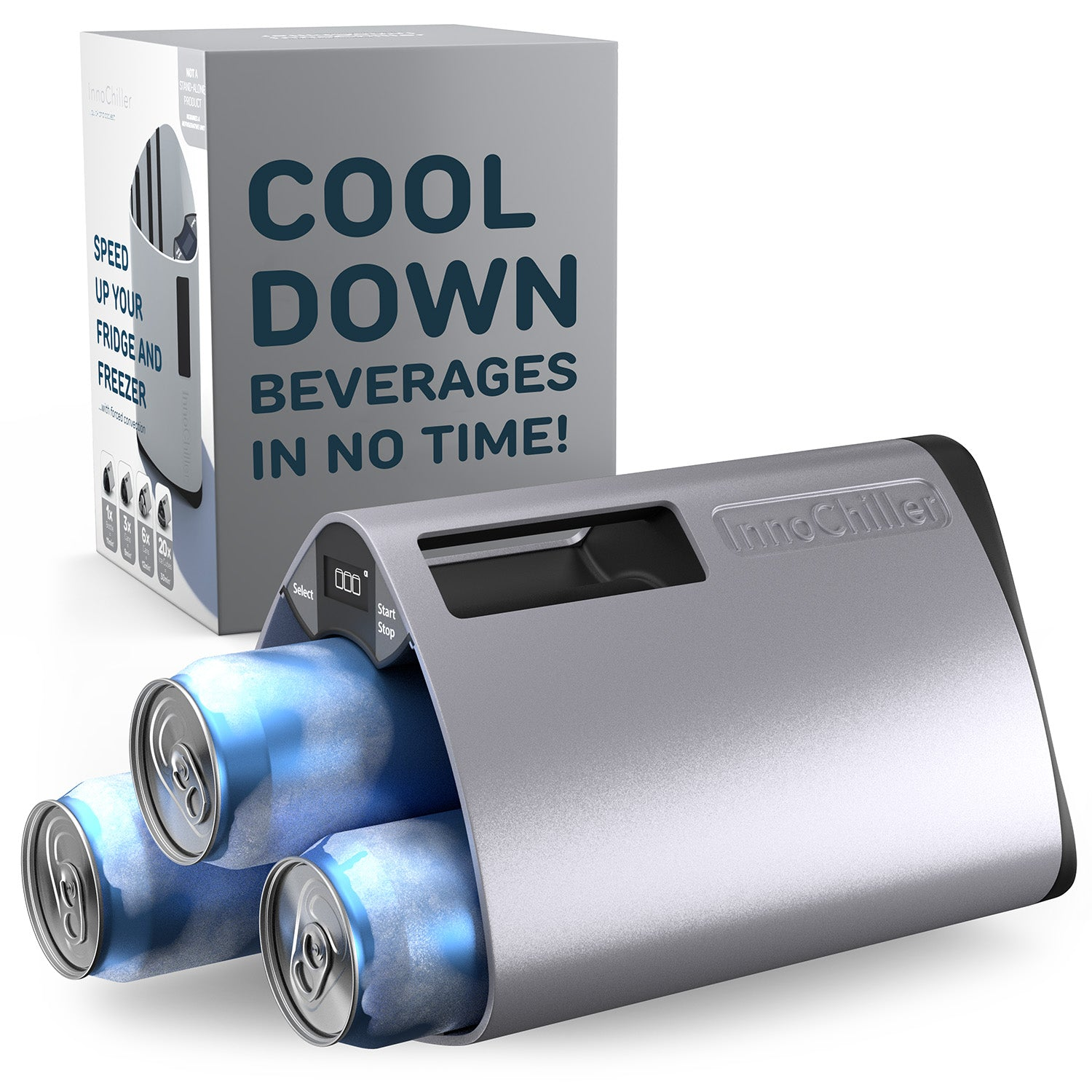 InnoChiller™ Beverage Cooler & Ice Maker