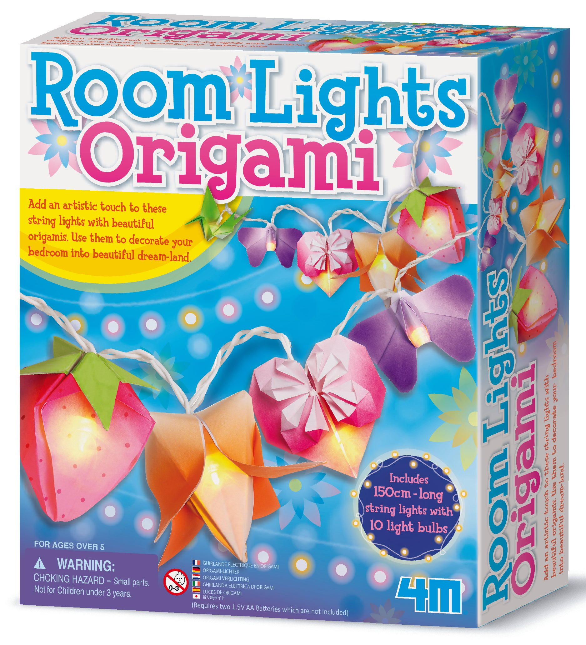 4M Craft: Origami Room Lights