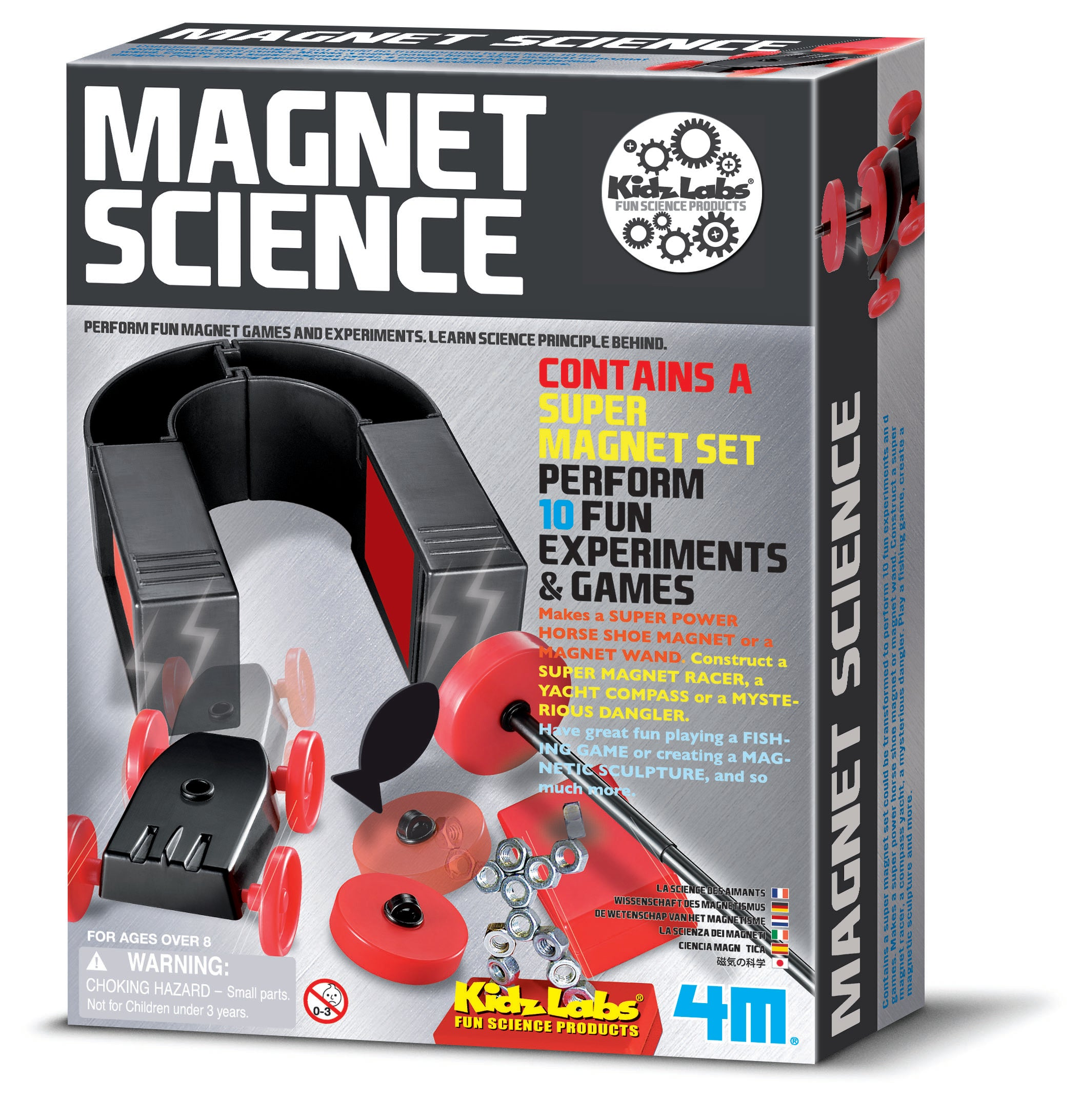4M: Magnet Science - Kidzlabs